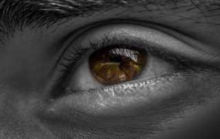 Über die Augen
